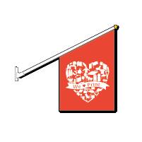 En kioskflagga är perfekt för att visa dina kunder att du har öppet!